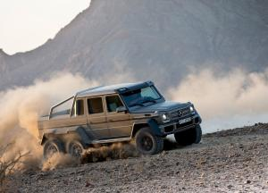 Mercedes-Benz G63 AMG 6x6 photo car