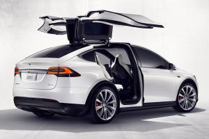 Тесла Модель Х фотография авто