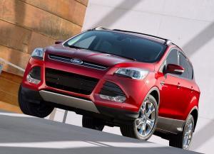 Ford Escape вид спереди