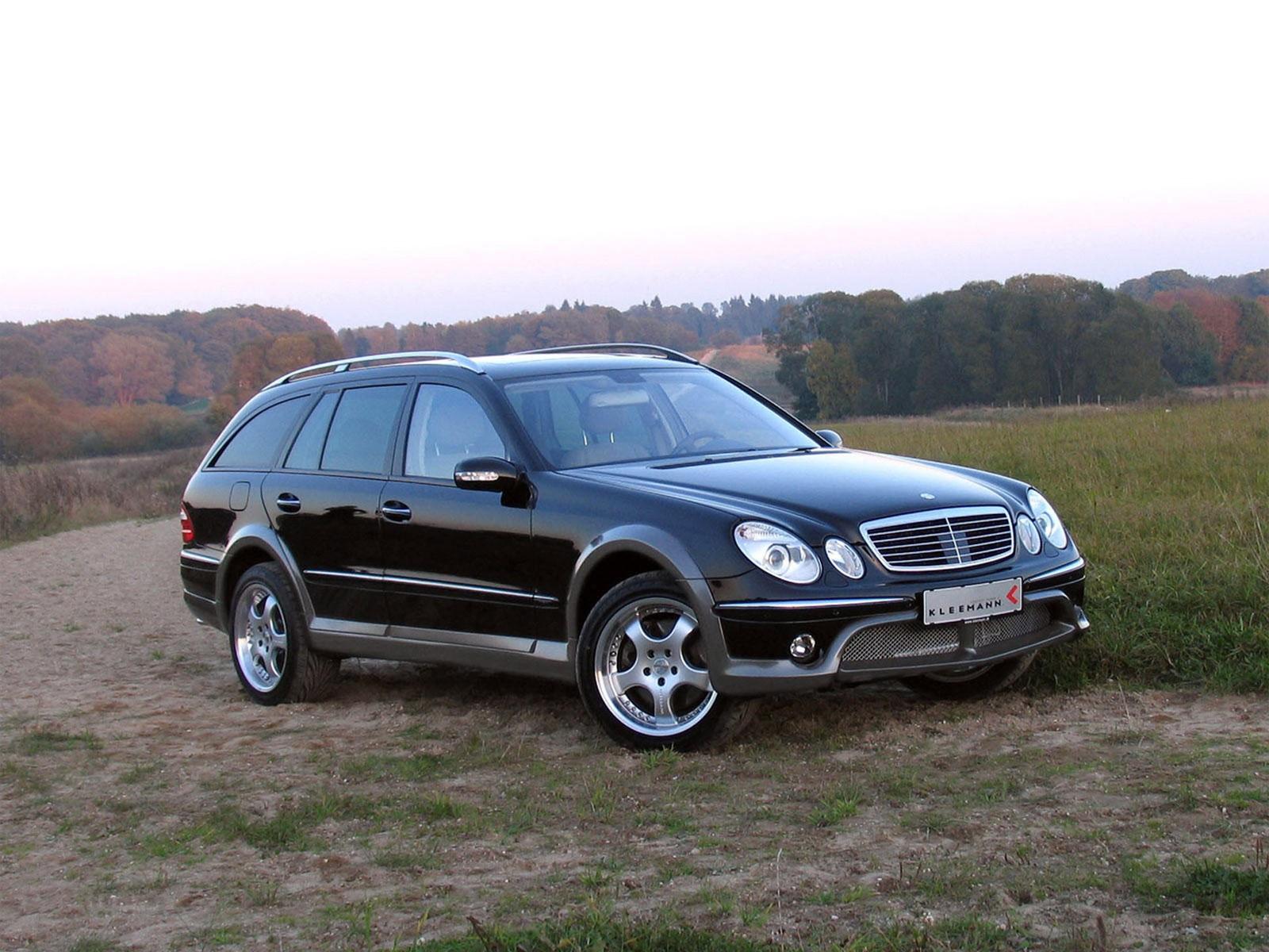 Автомобиль Mercedes-Benz Kleemann E50KCC