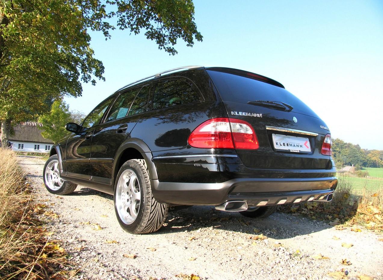 Вид сзади Mercedes-Benz Kleemann E50KCC