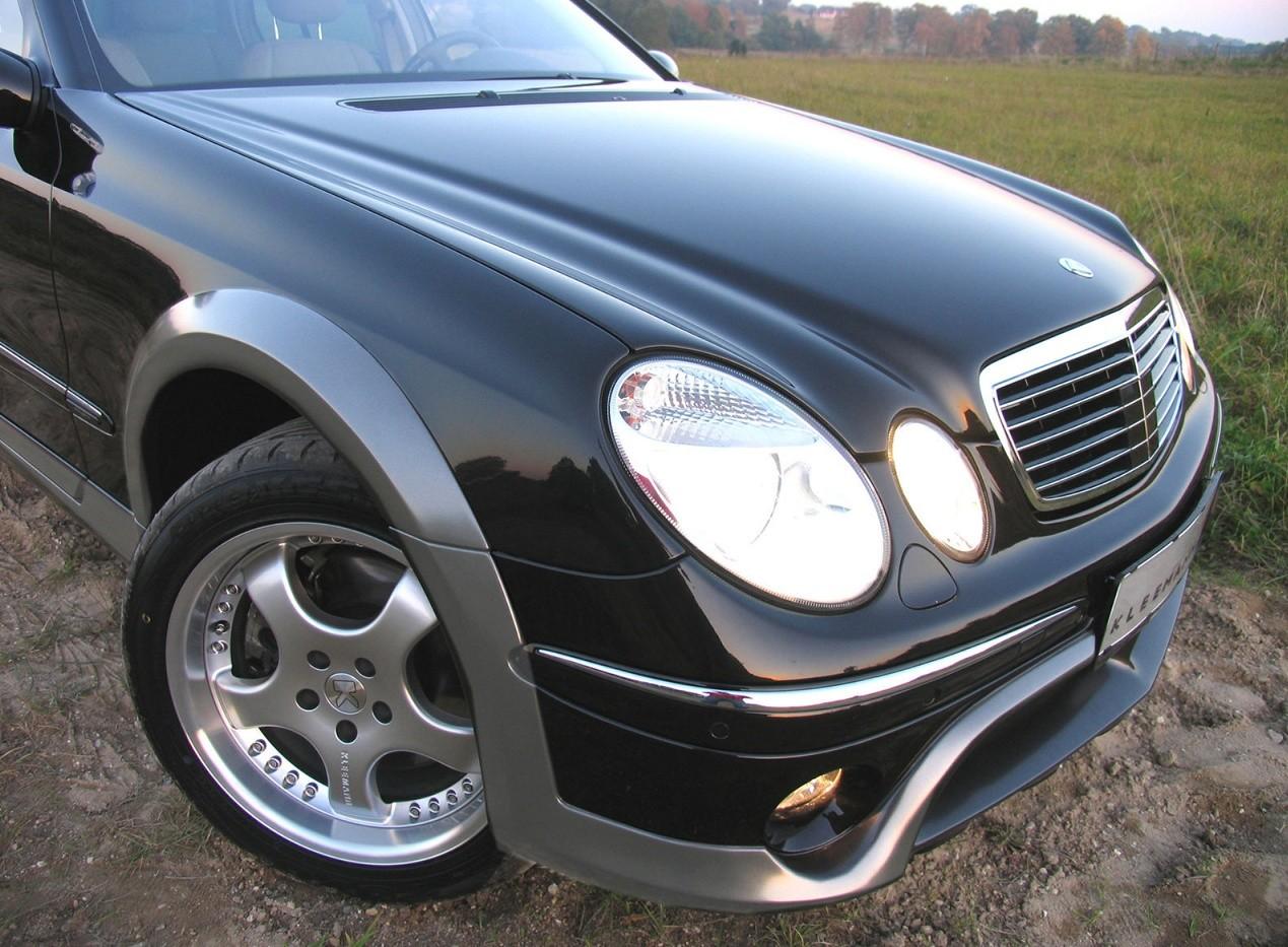 Вид спереди Mercedes-Benz Kleemann E50KCC