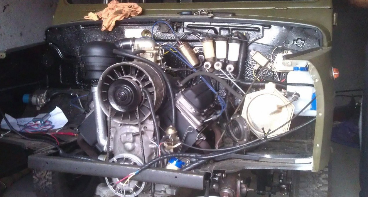 ЛуАЗ-969 двигатель