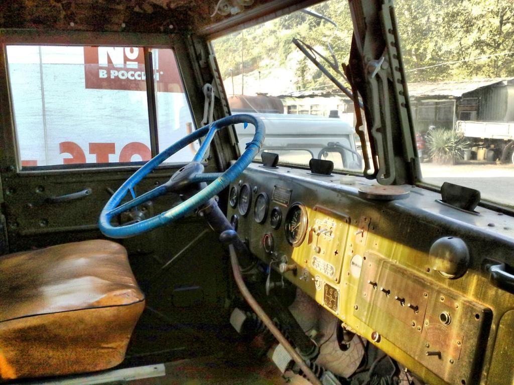 КрАЗ-255 кабина