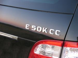 Mercedes-Benz Kleemann E50KCC авто