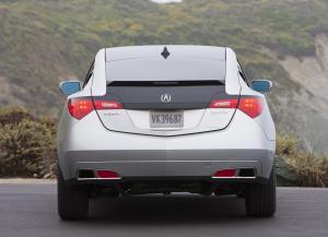 Acura ZDX вид сзади