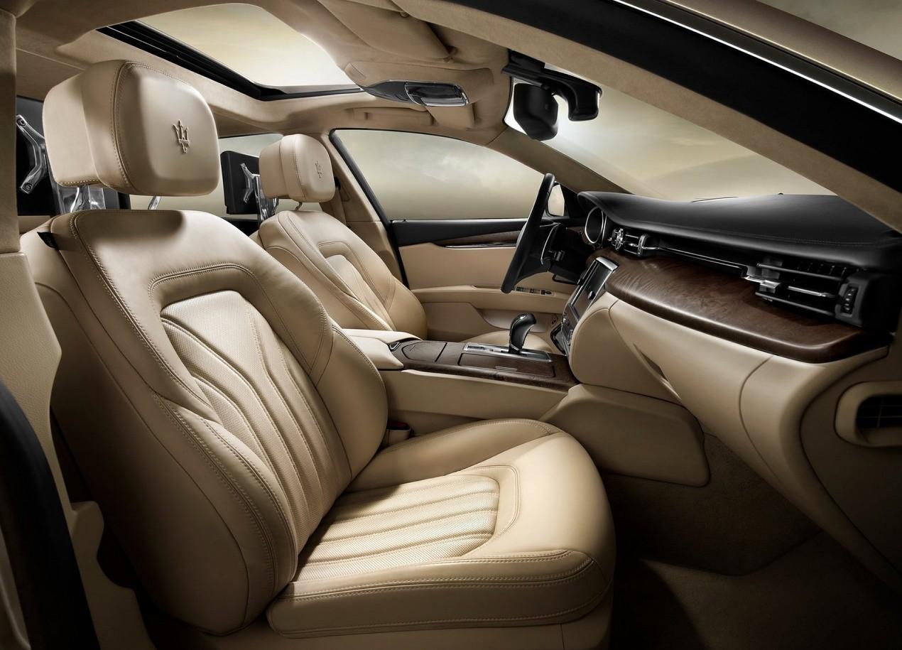 Maserati Quattroporte салон