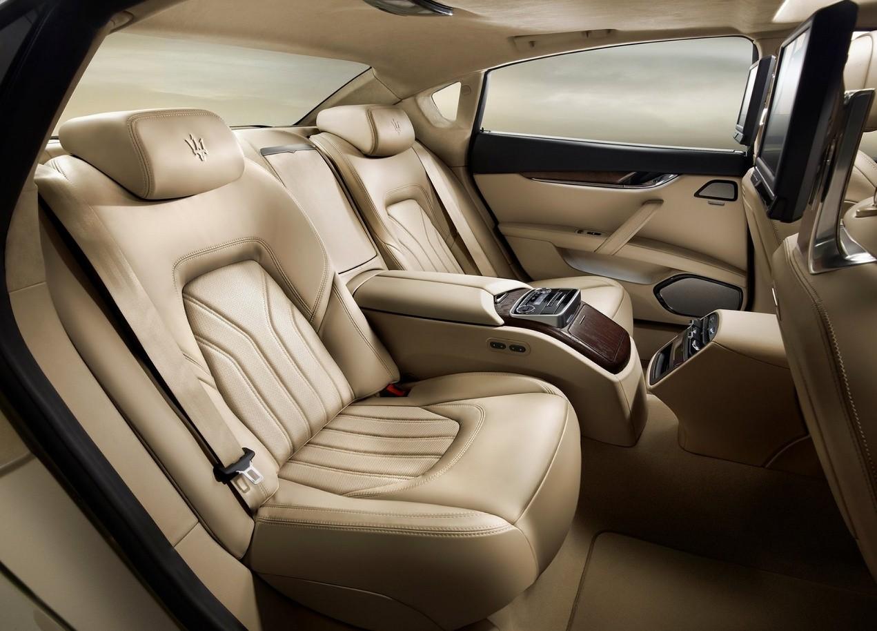 Maserati Quattroporte фото салон