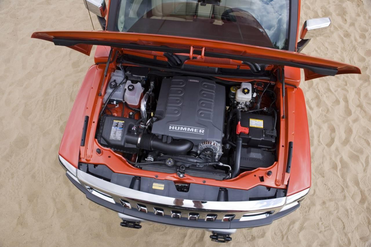 Hummer H3 Alpha двигатель