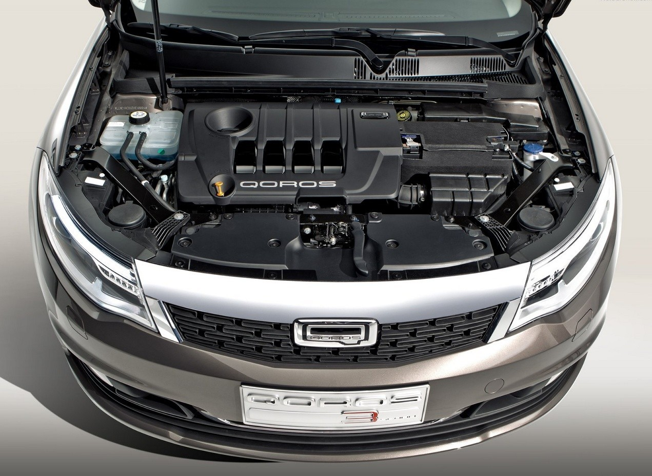 Qoros 3 Sedan двигатель