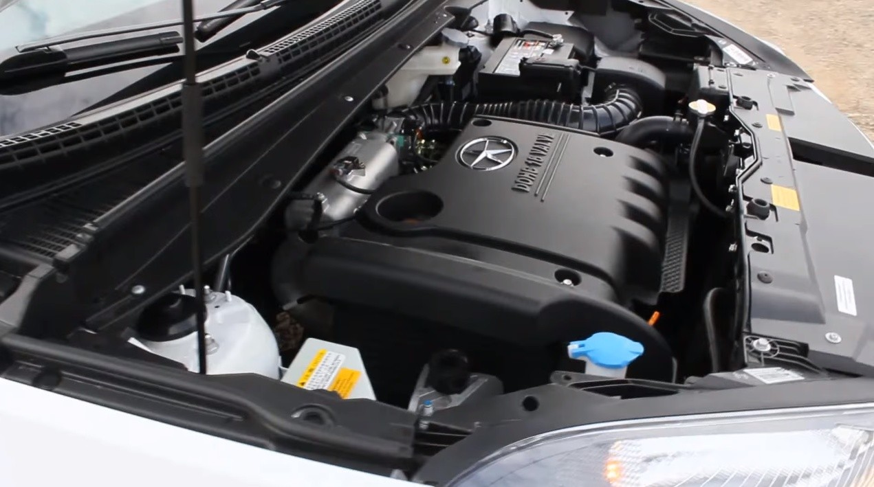 JAC S5 двигатель