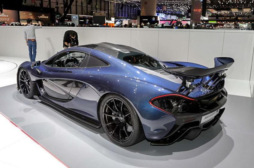 McLaren P1 фото