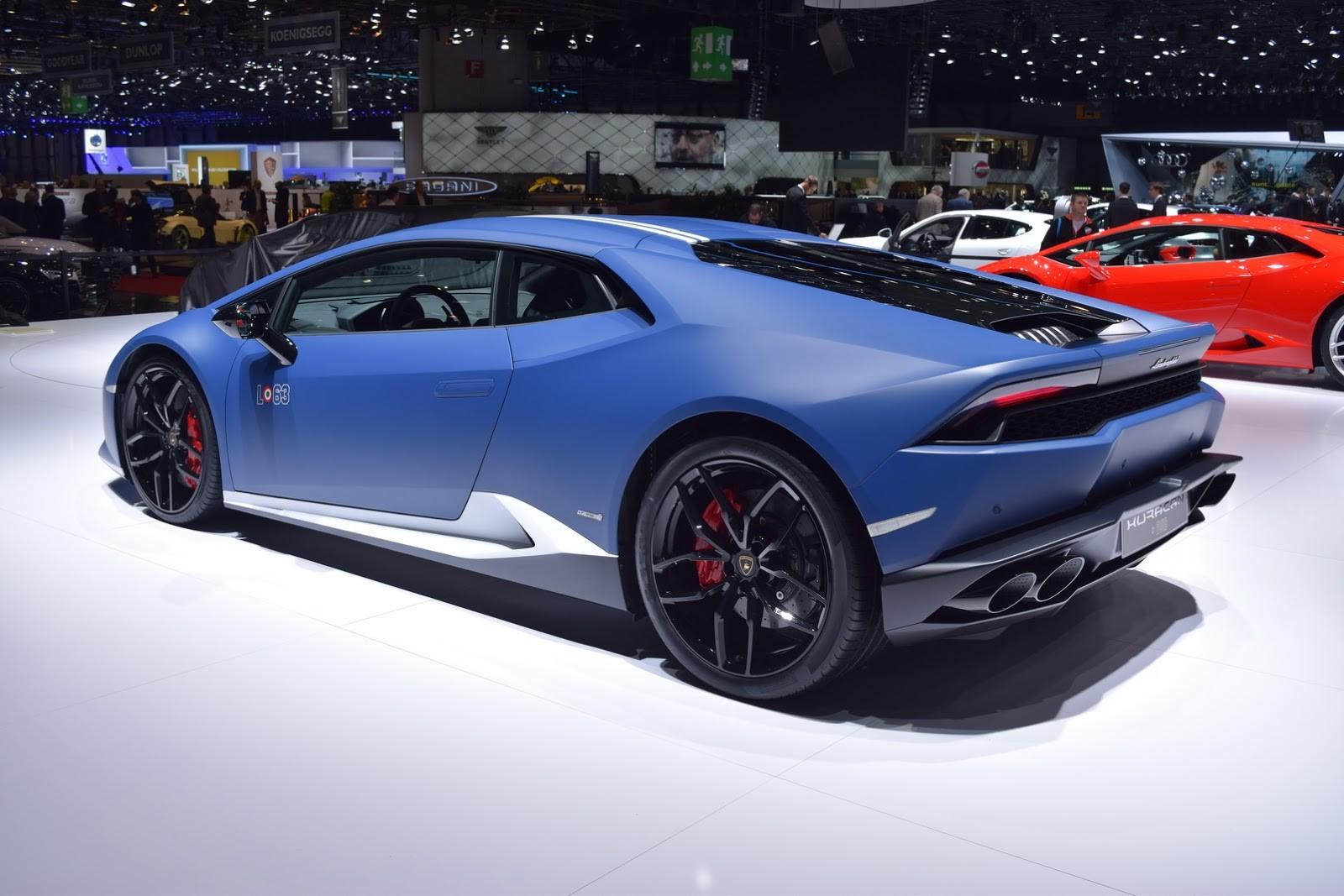 Авто Lamborghini Huracan LP 610-4 Avio