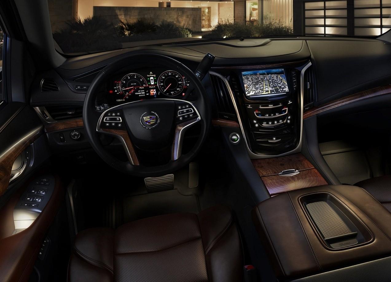 Cadillac Escalade салон