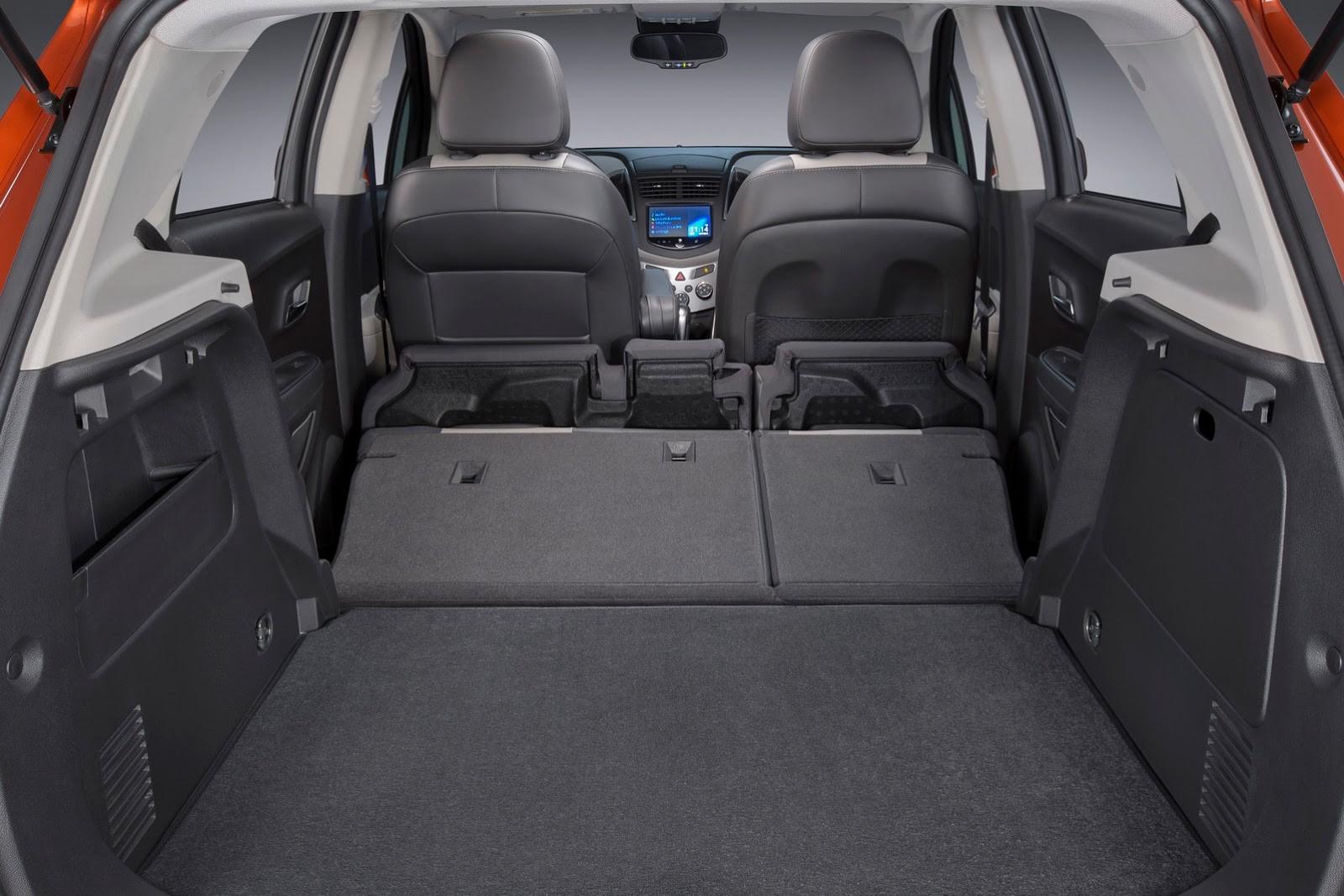 Chevrolet Tracker багажник