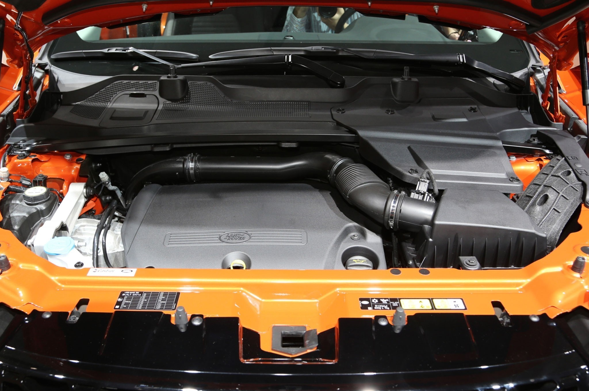 Land Rover Discovery Sport двигатель