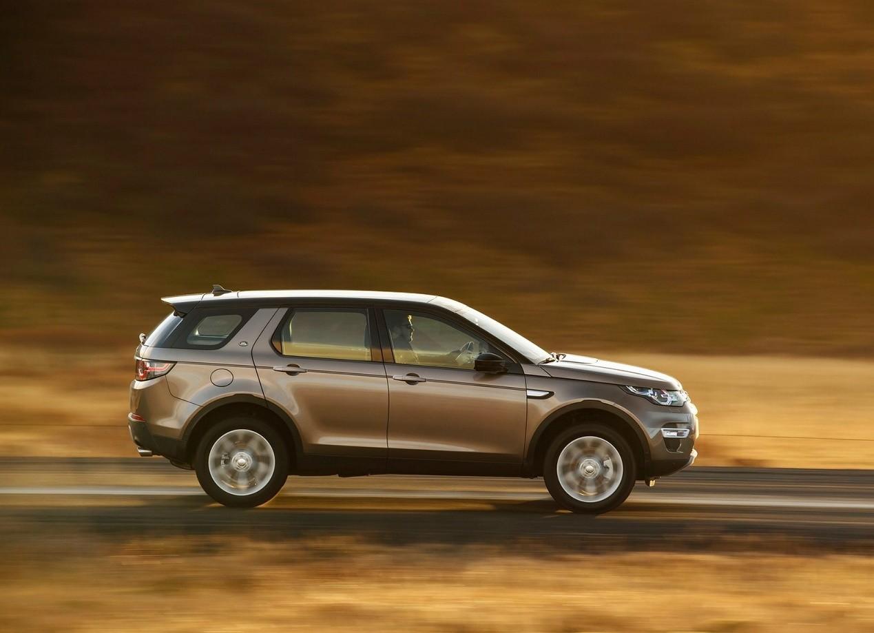 Land Rover Discovery Sport вид сбоку