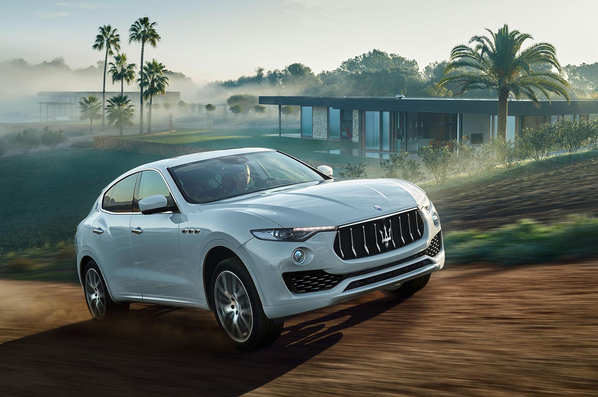 Maserati Levante фото