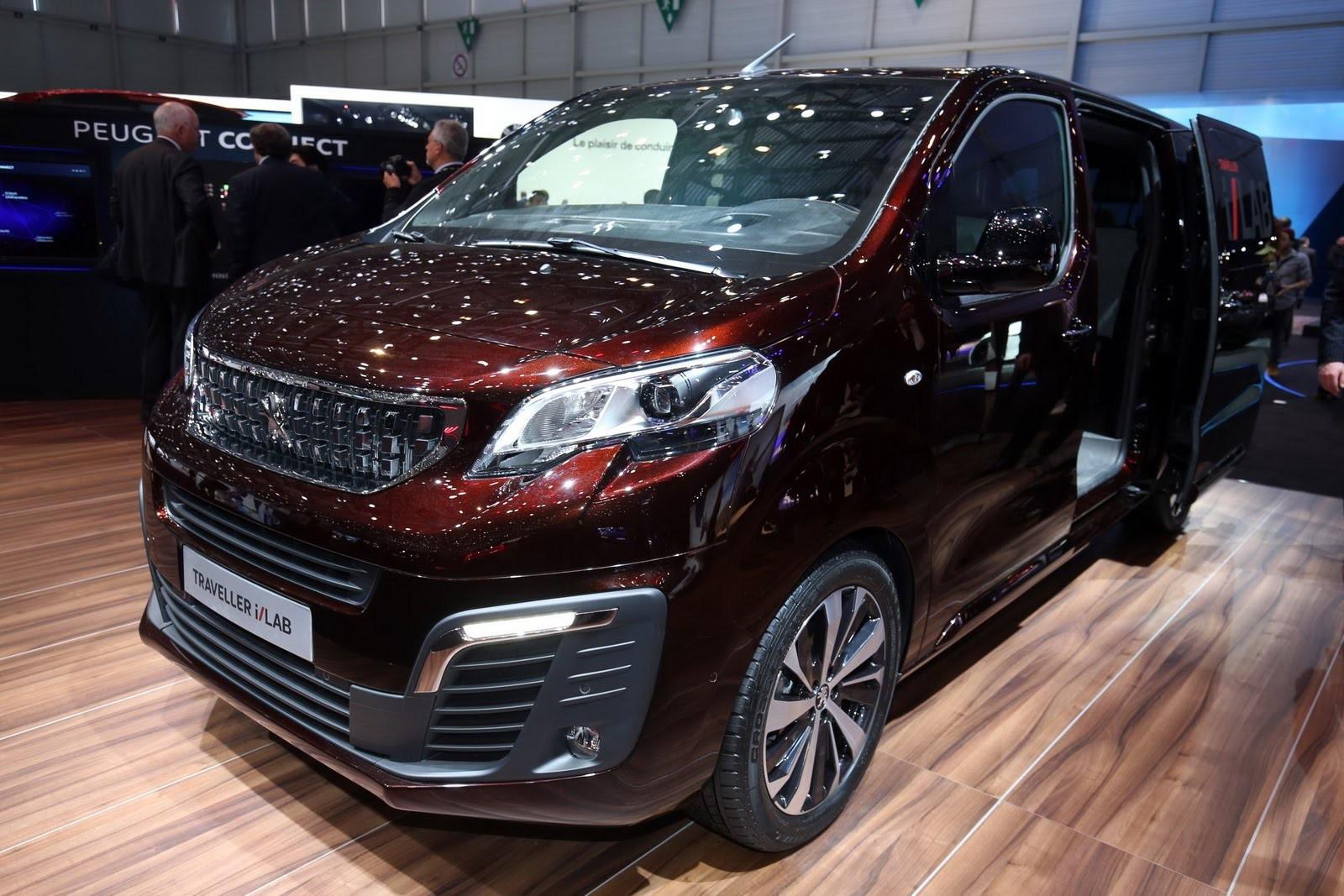 Peugeot Traveller i-Lab фото