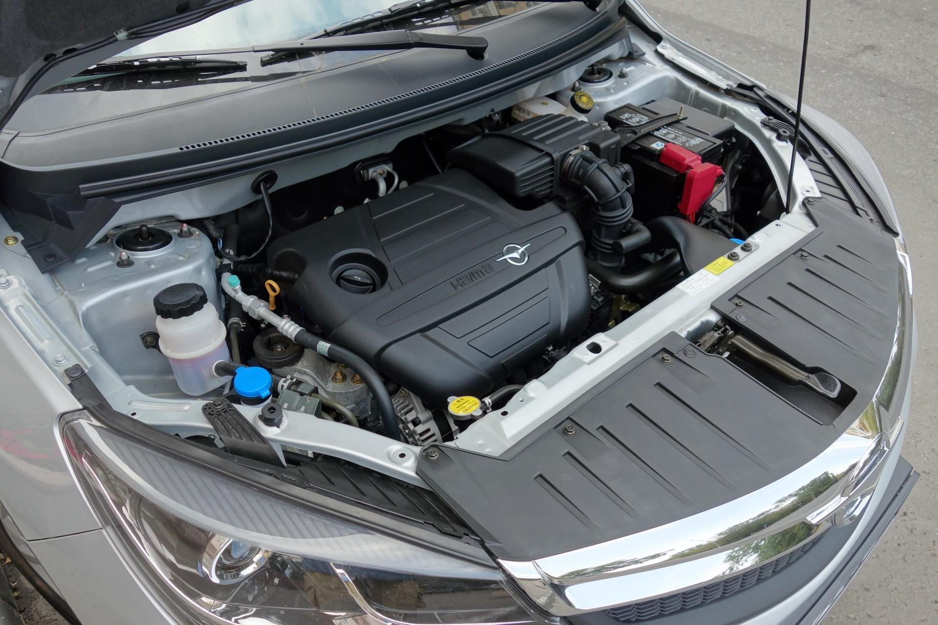 Haima M3 двигатель