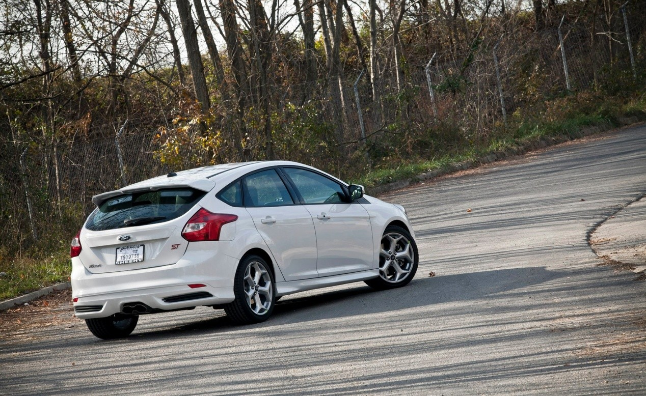 Ford Focus ST-Line фокус