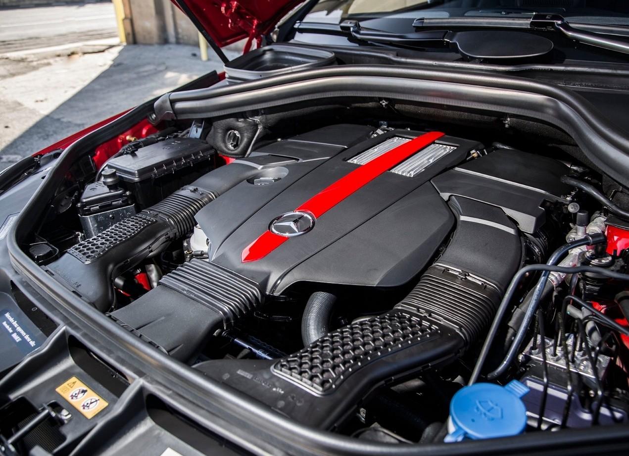 Mercedes-Benz GLE Coupe двигатель