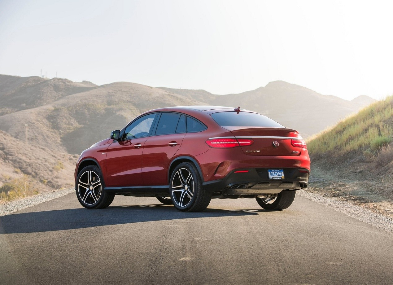 Mercedes-Benz GLE Coupe кроссовер