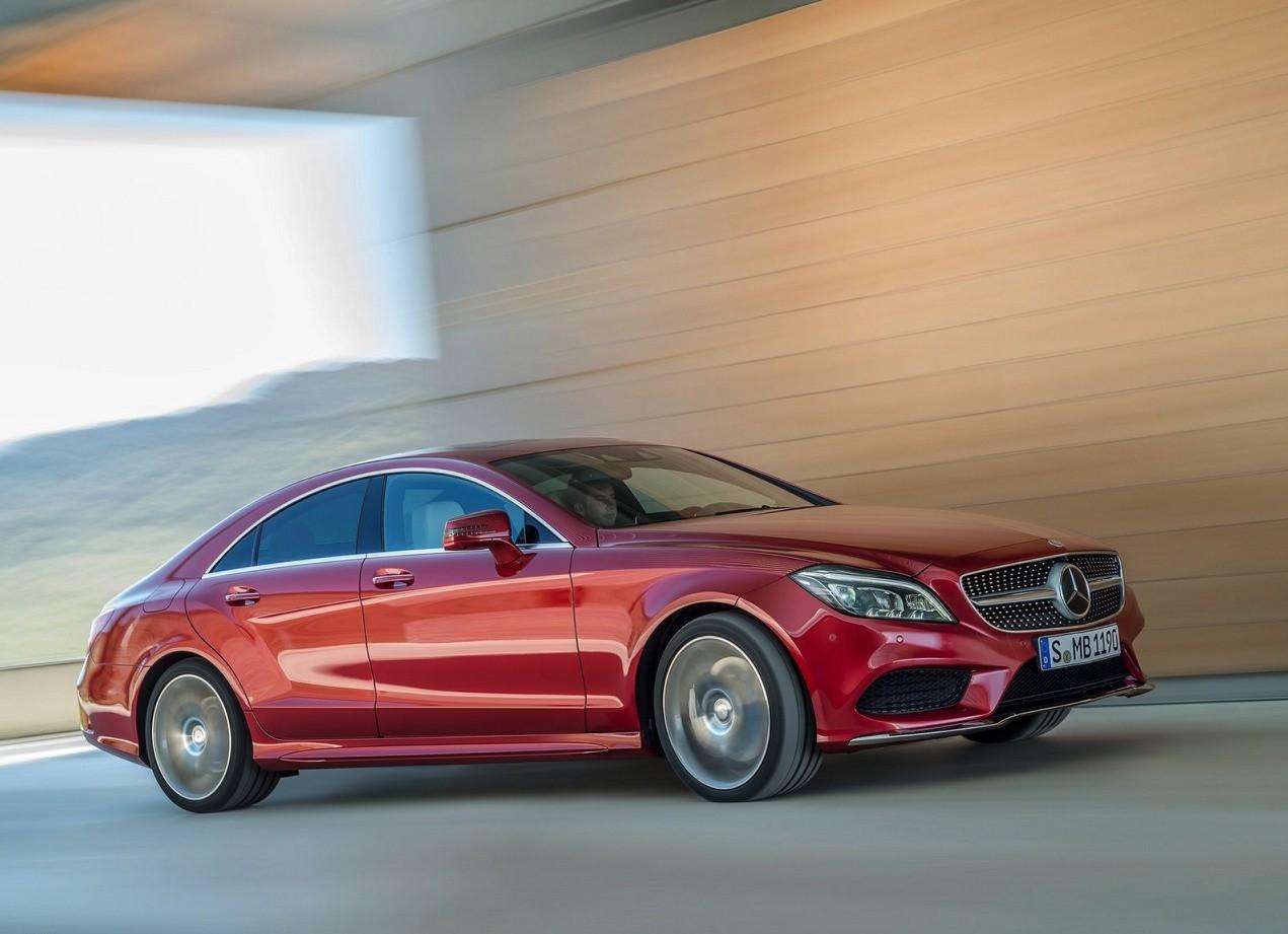 Mercedes-Benz CLS-Class вид сбоку