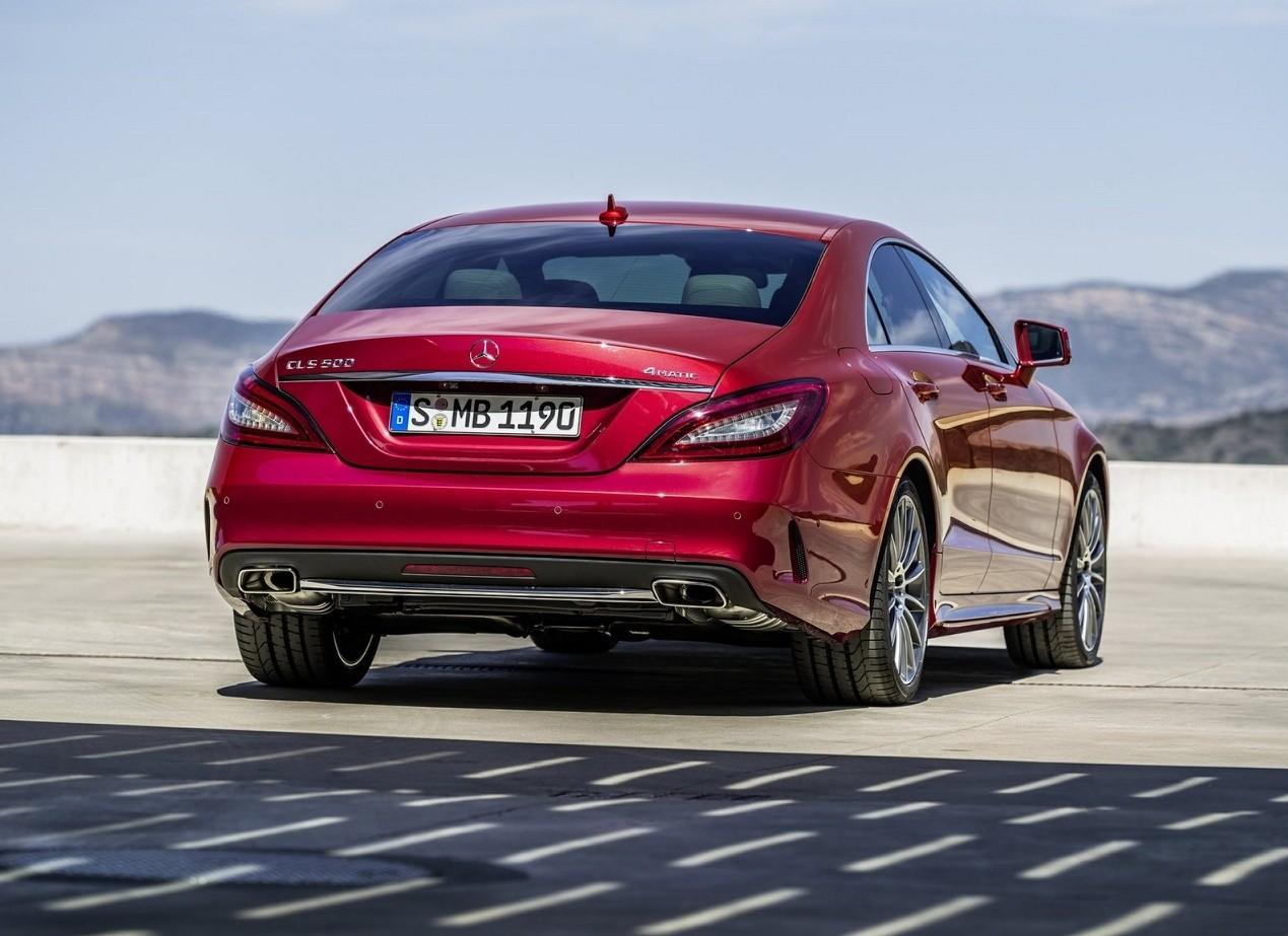 Mercedes-Benz CLS-Class вид сзади