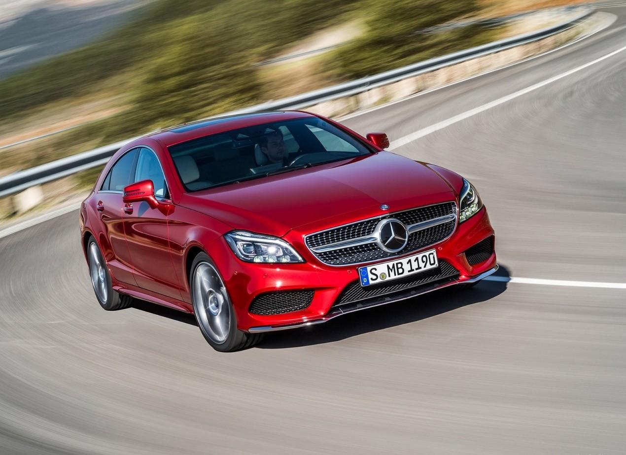 Mercedes-Benz CLS-Class вид спереди