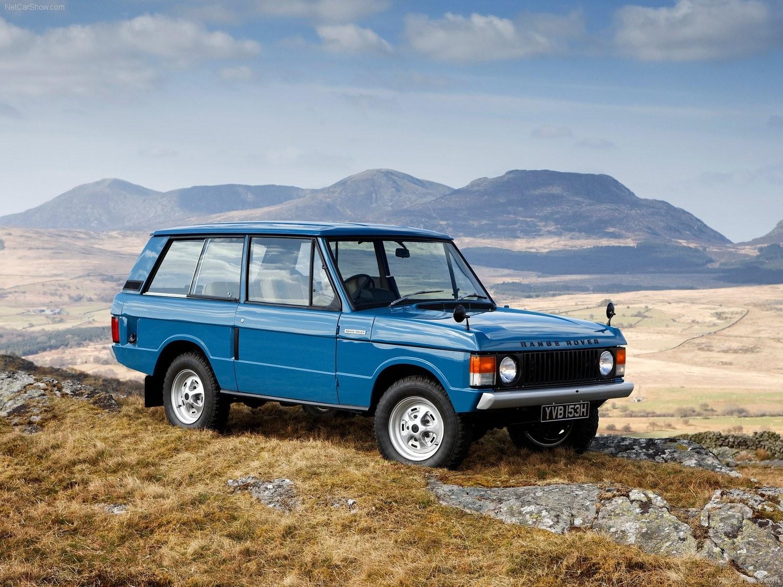 Range Rover Classic фото
