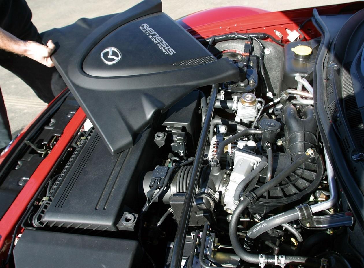 Роторный двигатель в мазде