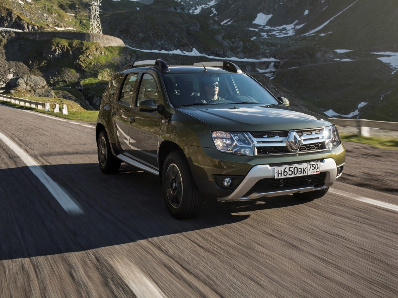 Renault Duster 2 кроссовер