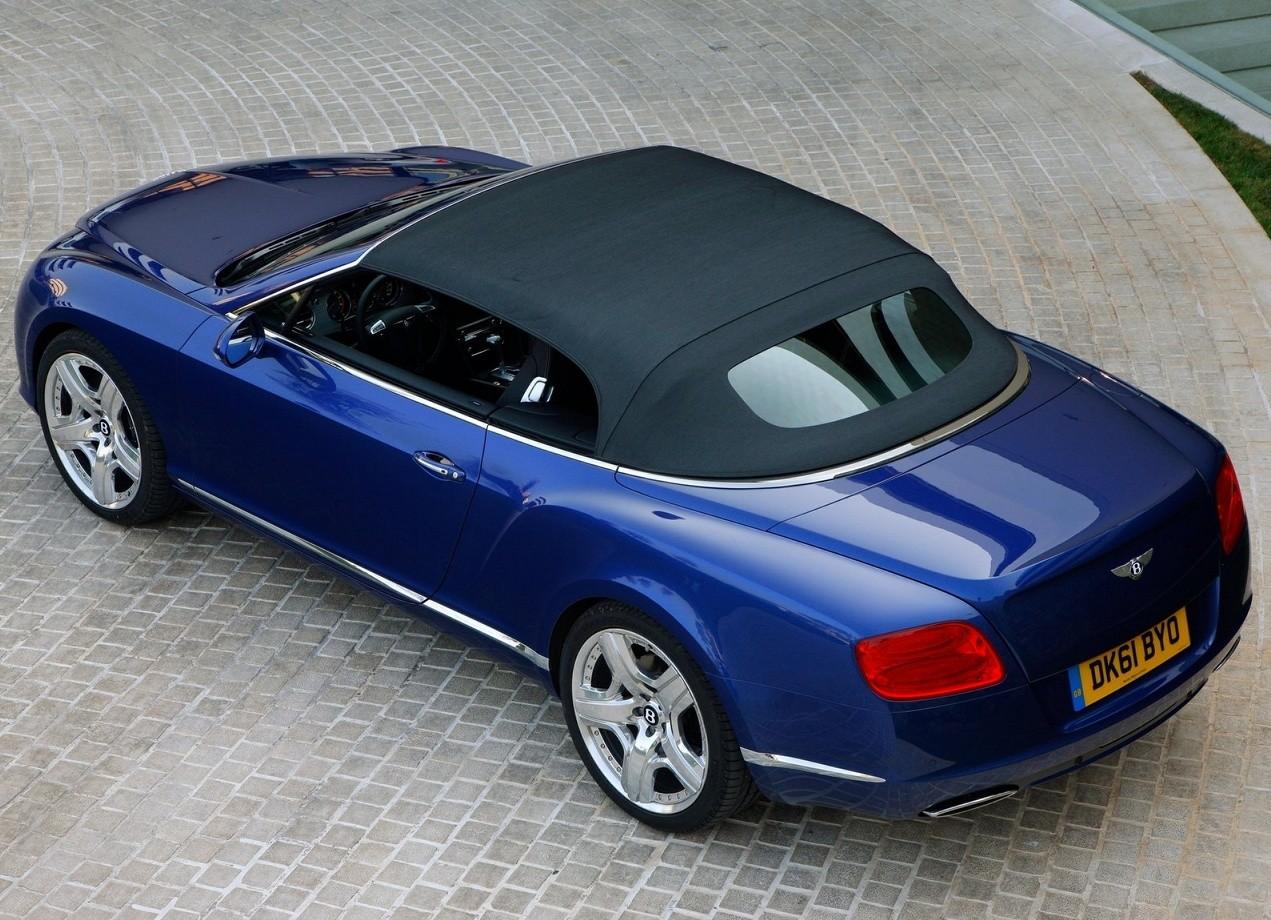 Bentley Continental GTC автомобиль