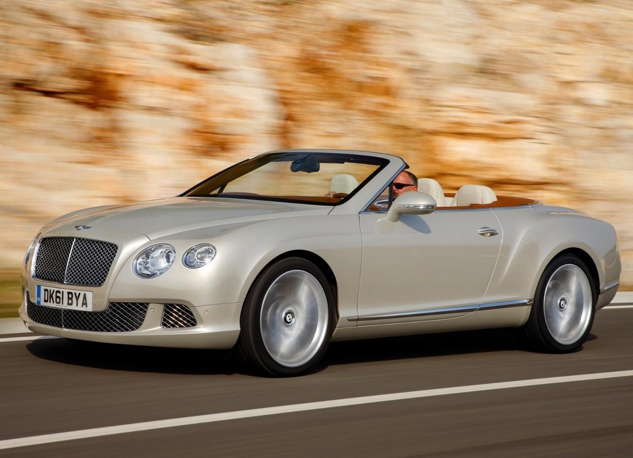 Bentley Continental GTC фотография