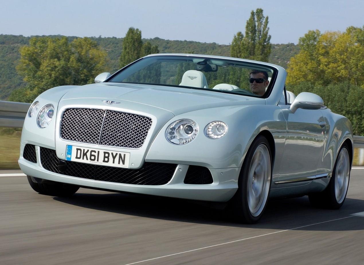 Кабриолет Bentley Continental GTС