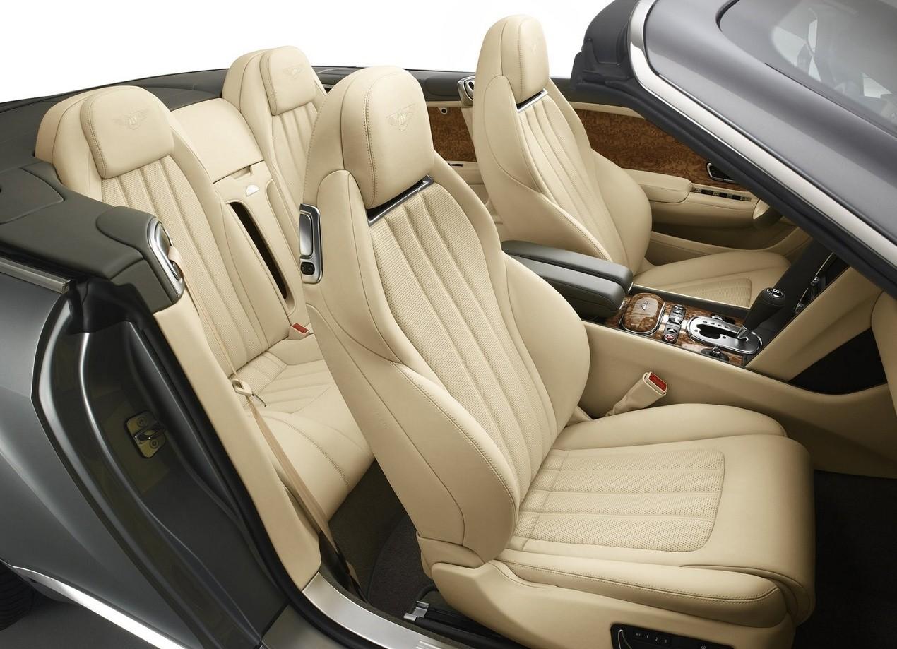 Bentley Continental GTC фото салон