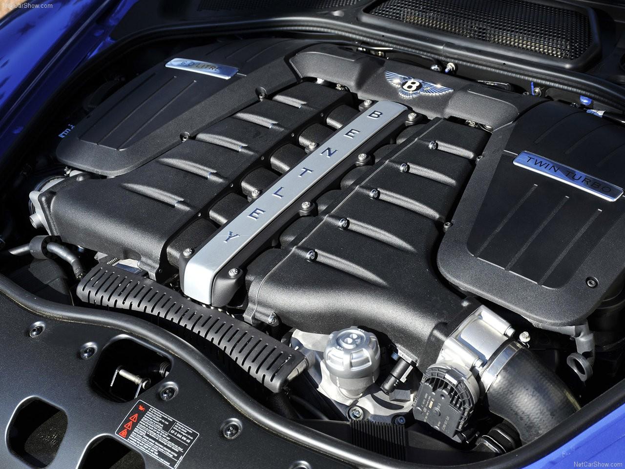 двигатель бентли континенталь