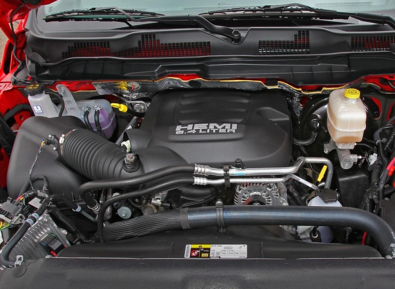 Dodge Ram 1500 Rebel двигатель