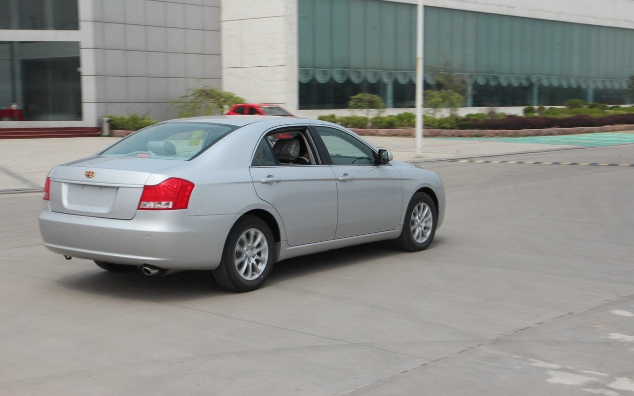 Geely Emgrand EC8 седан