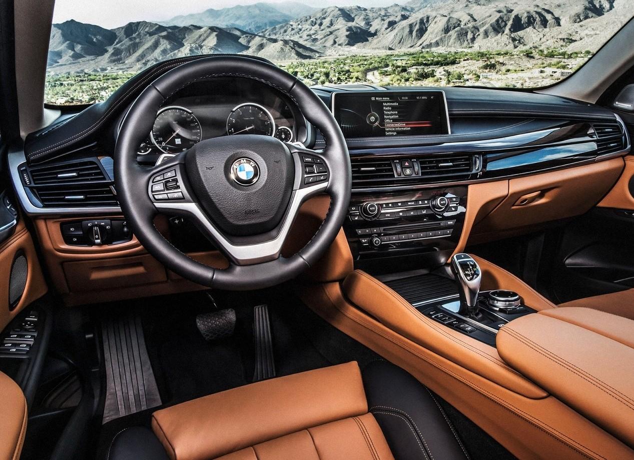 BMW X6 салон
