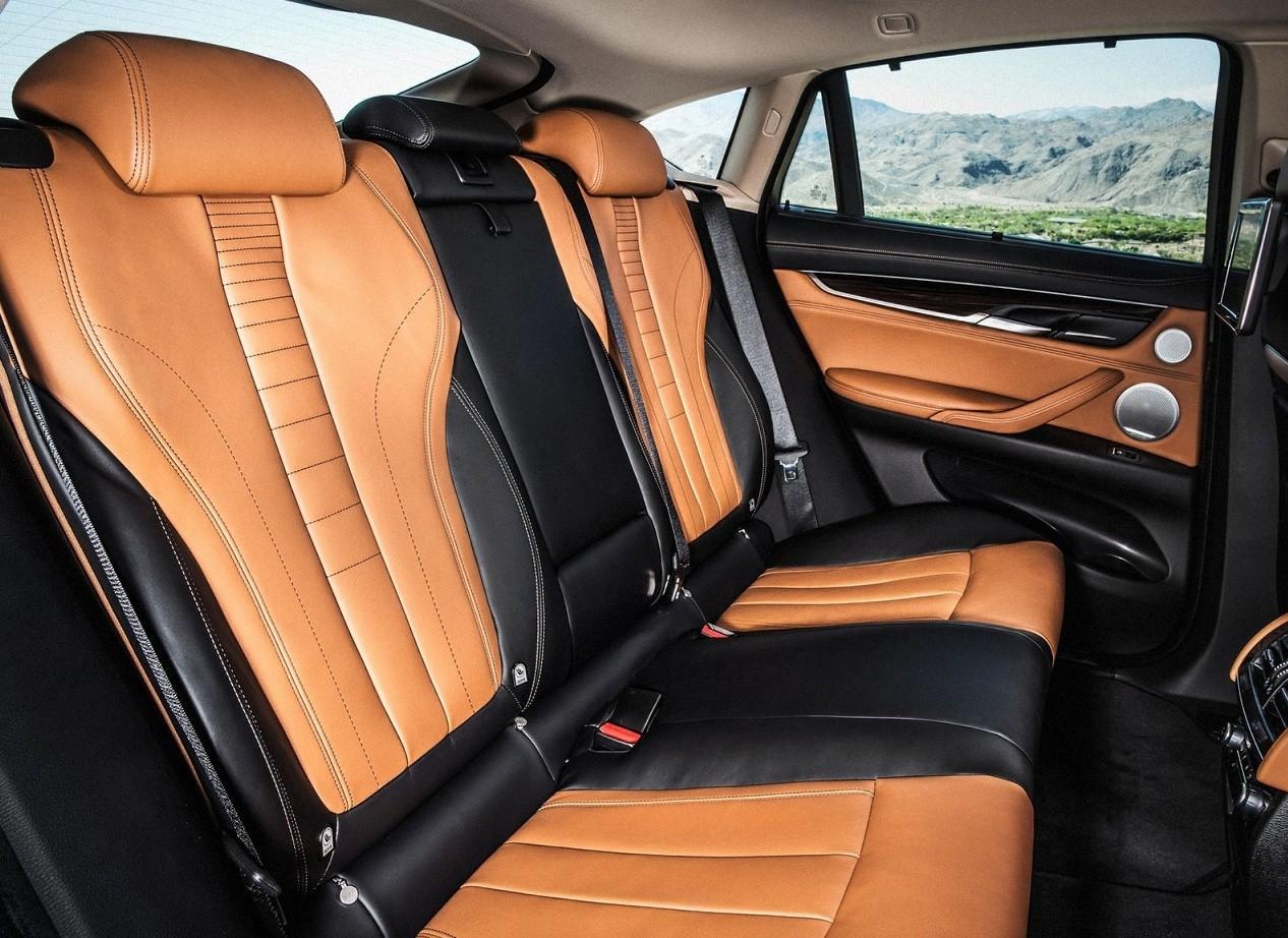 BMW X6 интерьер