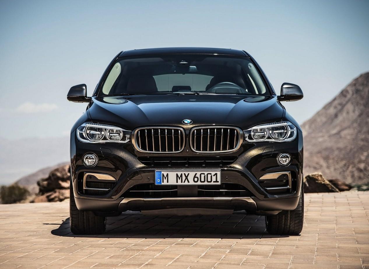 Вид спереди BMW X6