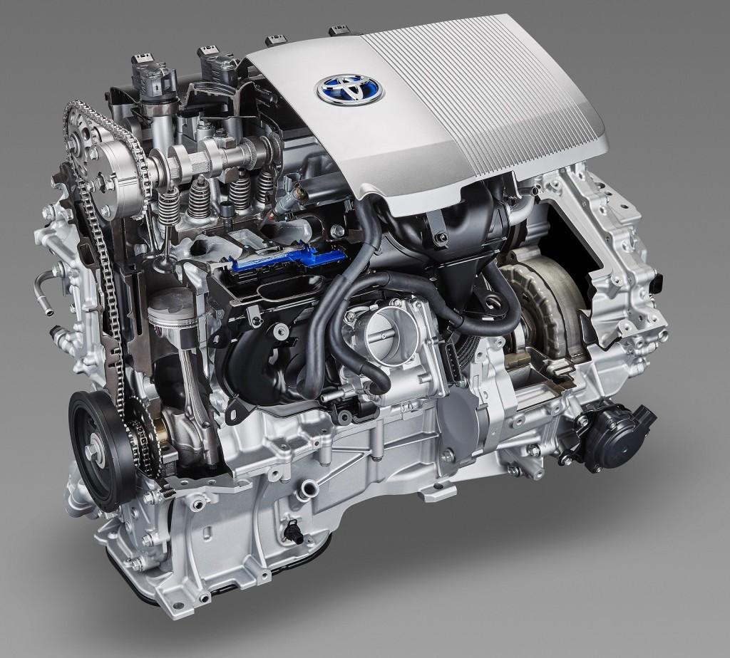 Toyota Prius двигатель