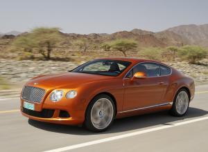 Bentley Continnetal GT автомобиль