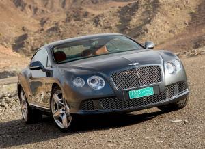 Bentley Continnetal GT фотография