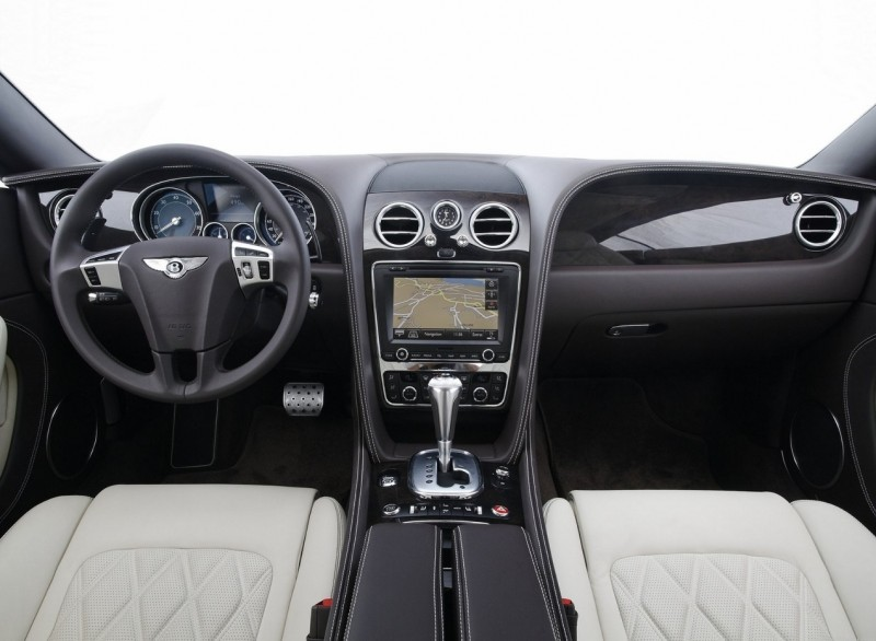 Bentley Continental GT интерьер