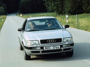 Audi 80 B4 вид спереди