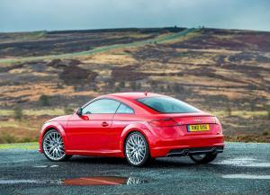 Audi TT Coupe 2015 года