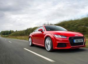Audi TT Coupe спорткар